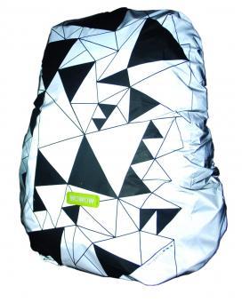 Lucky Bike WOWOW Bag Cover Regenschutzhaube silber