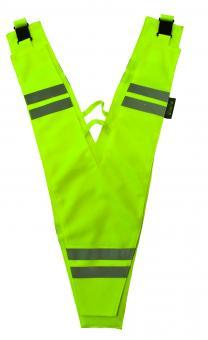 Lucky Bike WOWOW Collar Sicherheitskragen unisize | neon gelb