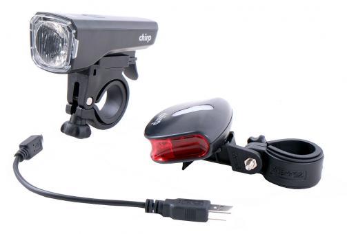 Chirp York USB/ Star II Lichtset schwarz