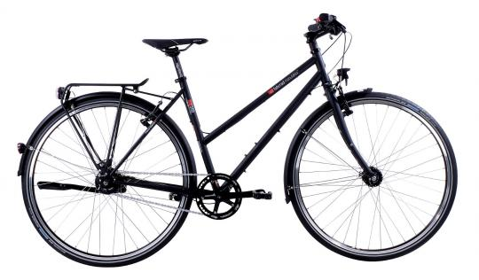 VSF Fahrradmanufaktur T-500 Alfine 8 Trapez 2016 45 cm | schwarz