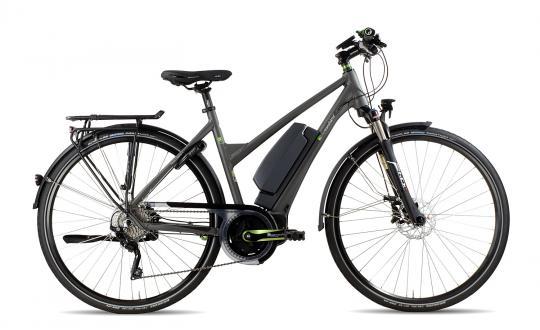 e-bike Manufaktur 11LF Shimano XT Trapez 2016 50 cm | grau matt