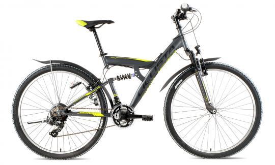 Ciclista Fully KX27.5 2016 47 cm | grau grün