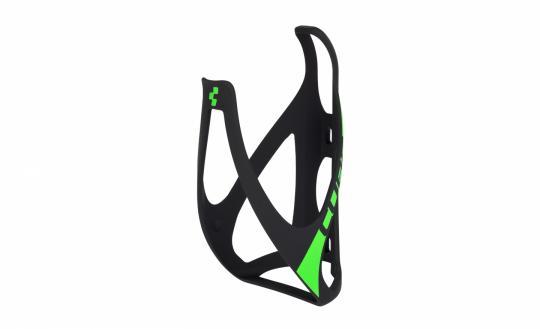 Cube Flaschenhalter HPP black green matt