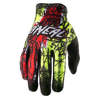Oneal Matrix Glove 9 | vandal hi viz red