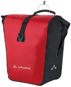 Vaude Aqua Front Packtasche red black