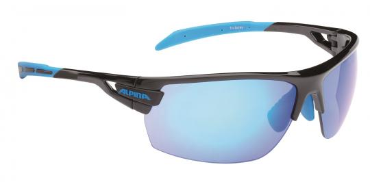 Alpina Tri-Scray schwarz cyan | black-klar-orange