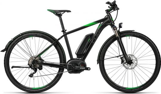 Cube Cross hybrid Race Allroad 500 2016 14 Zoll | black/green