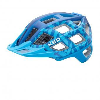 KED Crom 57-62 cm | blue matt