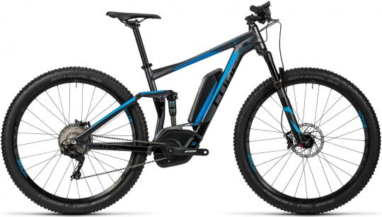 Cube Stereo Hybrid 120 HPA Race 500 2016 18 Zoll | grey/blue | 27.5 Zoll