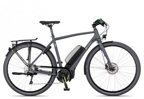 e-bike Manufaktur N9UN XT Herren 2016 55 cm | grau matt