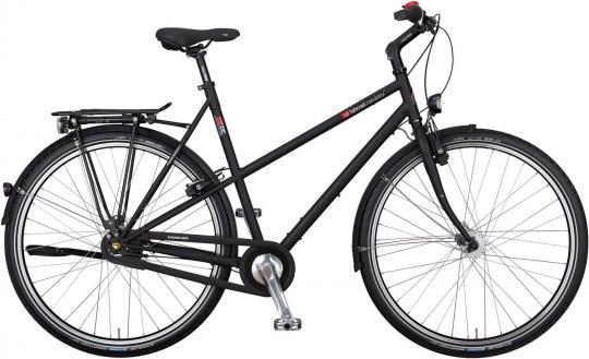 VSF Fahrradmanufaktur T-XXL Nexus Trapez 2016 60 cm | schwarz matt