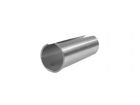 Kalloy Distanzhülsen für Sattelstützen 27,2 auf 30,8 mm | silber