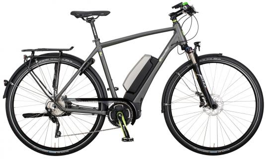 e-bike Manufaktur 11LF Shimano XT Herren 2016 55 cm | grau matt