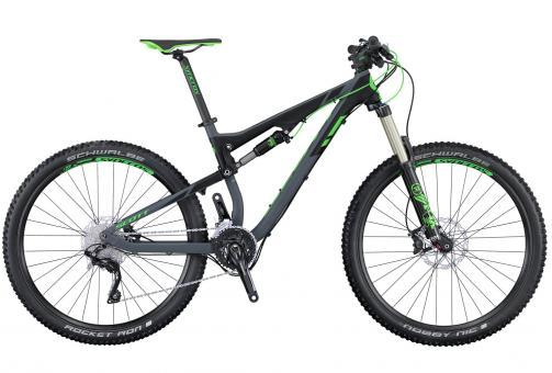 Scott Genius 740 2016 44 cm | grey green