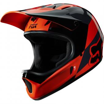 Fox Rampage Helmet XL | mako orange