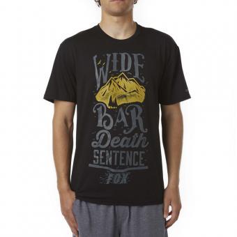 Fox Tech Tee S | wide black