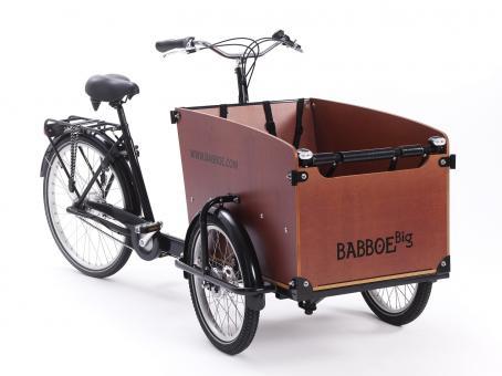 Babboe Big 50 cm | schwarz braun