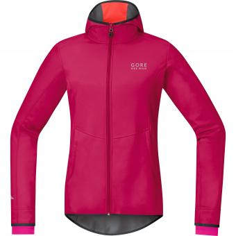 Gore Element Lady WS SO Hoody 36 | pink