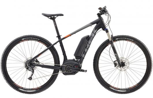 Trek Powerfly 5 + 2017 19 Zoll | black orange