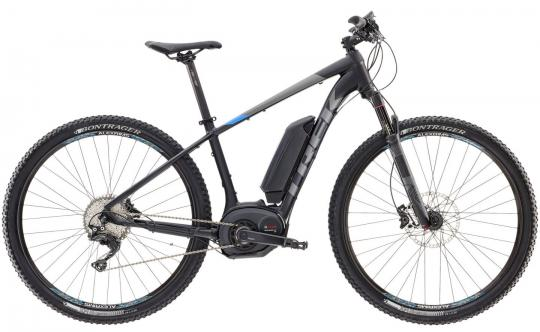 Trek Powerfly 7 + 2017 19 Zoll | black blue