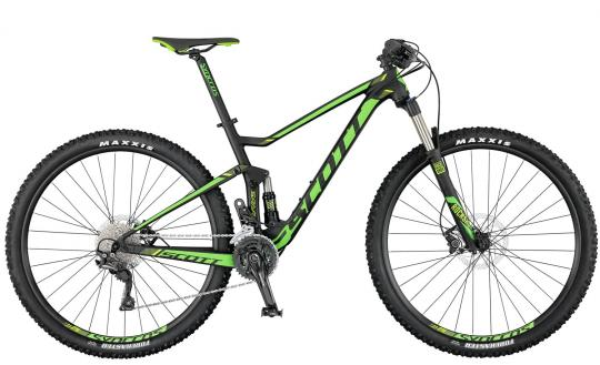 Scott Spark 960 2017 41 cm | black green lime