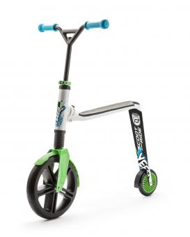 Scoot and Ride Highwaygangster unisize | weiß grün blau