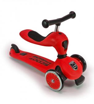 Scoot and Ride Highwaykick 1 unisize | rot