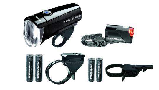Trelock LS350/710 Kombi-Set schwarz