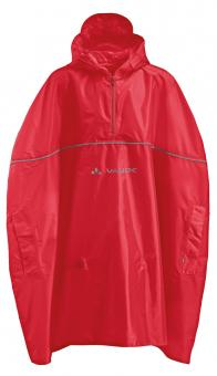 Vaude Kids Grody Poncho S | rot