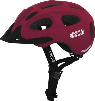 Abus You-I Ace 56-61 cm   cherry red