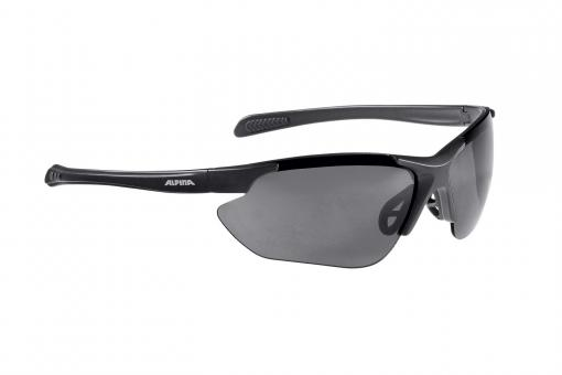 Alpina Jalix Brille black matt, S3