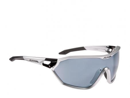 Alpina S-Way CM+ Sportbrille silber