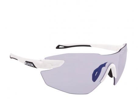 Alpina Twist Five Shield RL VLM+ Sportbrille white black