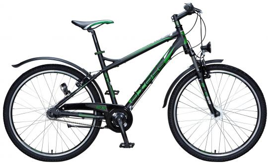 Axess Stipe AX-2607 46 cm | schwarz grün
