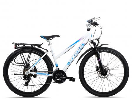 Axess Sporty 21 Disc 26 Trapez 2018 44 cm | white blue