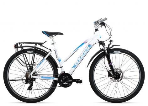 Axess Sporty 21 Disc 27 Trapez 2018 48 cm | white blue