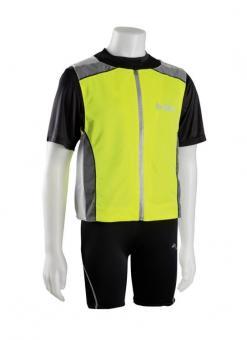 Vest SPEED M | gelb silber grau