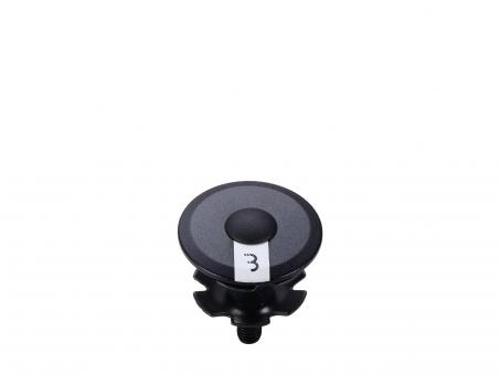BBB RoundHead BAP-02 Ahead Steuersatzkappe schwarz weiß