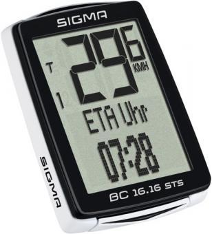 Sigma BC 16.16 STS schwarz/weiß