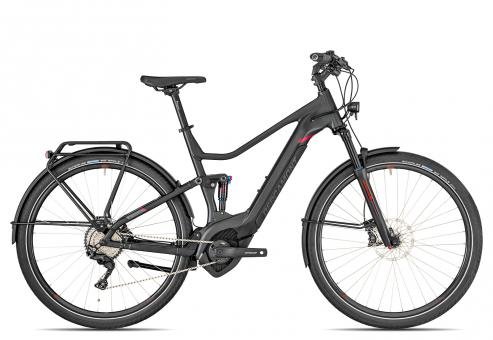 Bergamont E-Horizon FS Elite 2019 50 cm | anthracite/black/red