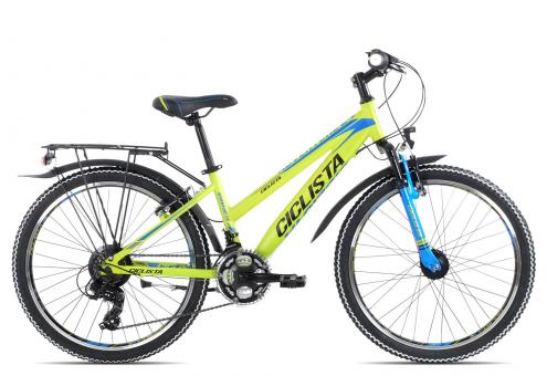 Ciclista Adventure 24 Girl 2019 34 cm | lime black blue