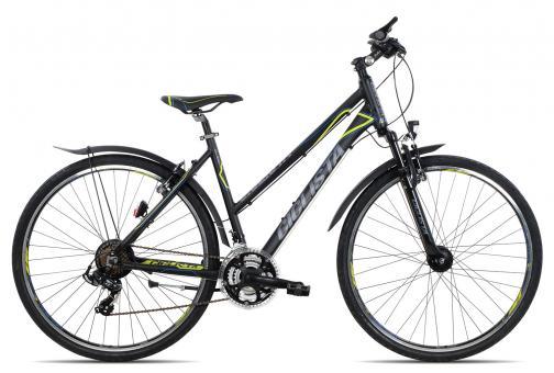 Ciclista All Road Trapez 45 cm | black blue lime