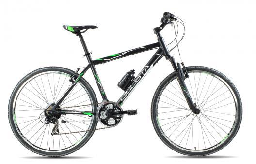 Ciclista Cross 2016 55 cm   schwarz/grün