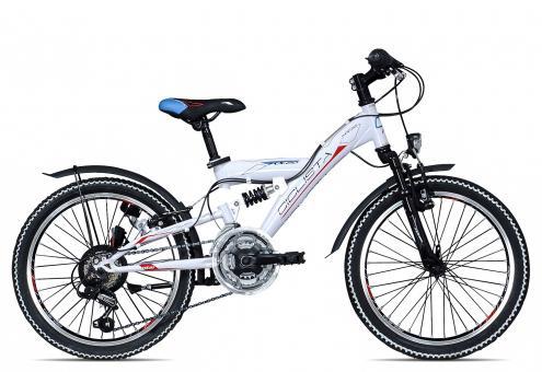 Ciclista Fully KX20 2017 29 cm | weiß schwarz