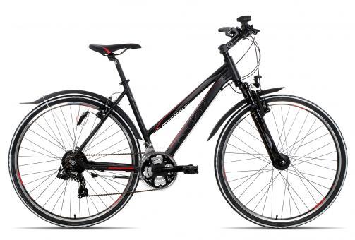 Ciclista Sport Trapez 2016 50 cm | schwarz rot