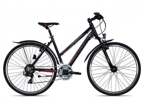Ciclista Sportiva Cross Street Trapez 2017 50 cm | schwarz rot