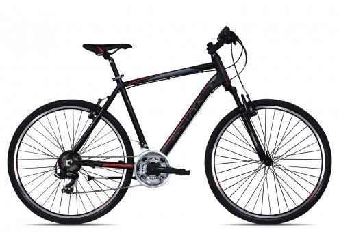 Ciclista Sportivo Cross Herren 2017 55 cm | schwarz rot