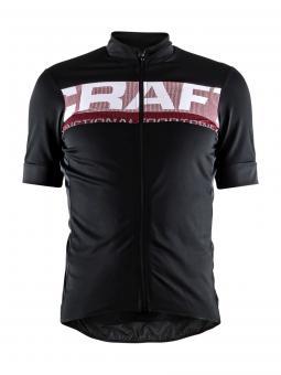 Craft Reel Jersey M | black red