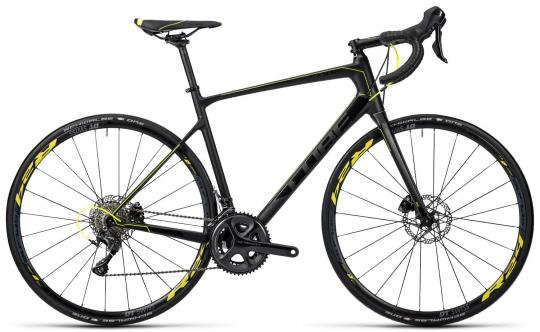 Cube Attain GTC SL Disc 2016 58 cm | carbon yellow