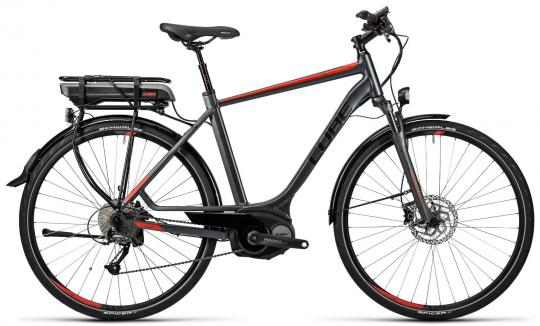 Cube Touring Hybrid 500 Wave 2016 54 cm | grey red